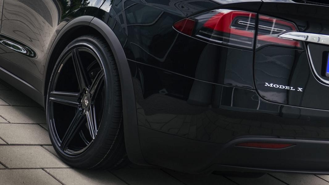 Tesla Model X mbDesign KV1 Felgen 2 Perfekter Stromer! Tesla Model X auf mbDesign KV1 Felgen