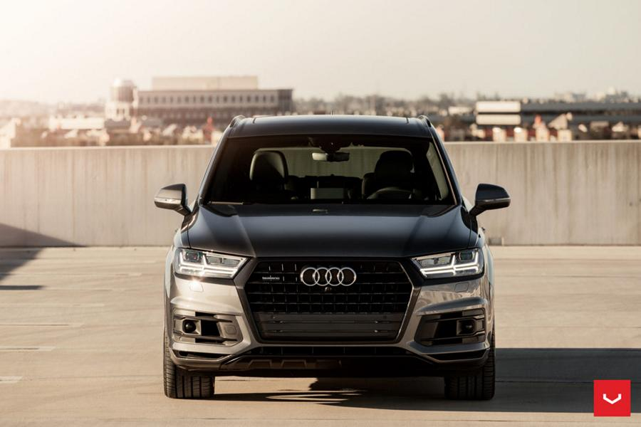 Vossen Hybrid Forged HF 1 Alus Audi Q7 4M SUV 10 TOP   Vossen Hybrid Forged HF 1 Alus am Audi Q7 SUV