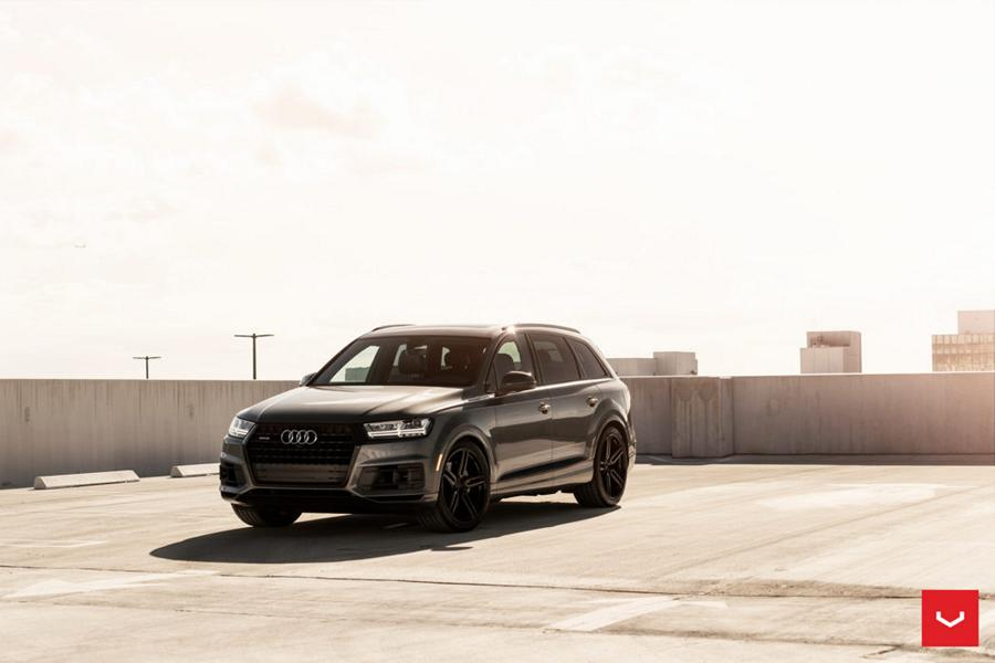 Best Tuner Cars >> TOP - Vossen Hybrid Forged HF-1 Alus Audi Q7 SUV - tuningblog.eu - Magazine
