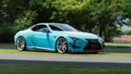 WALD International Widebody Gulf Oil Folierung Lexus LC Tuning 11 190x107 Fertig   Wald International Widebody Kit für den Lexus LC