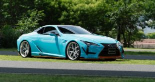 WALD International Widebody Gulf Oil Folierung Lexus LC Tuning 11 310x165 2018 Lexus LS mit Bodykit vom Tuner Wald International