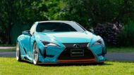 WALD International Widebody Gulf Oil Folierung Lexus LC Tuning 2 190x107 Fertig   Wald International Widebody Kit für den Lexus LC