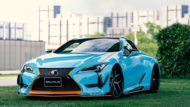 WALD International Widebody Gulf Oil Folierung Lexus LC Tuning 6 190x107 Fertig   Wald International Widebody Kit für den Lexus LC