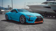 WALD International Widebody Gulf Oil Folierung Lexus LC Tuning 7 190x107 Fertig   Wald International Widebody Kit für den Lexus LC