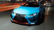 WALD International Widebody Gulf Oil Folierung Lexus LC Tuning 9 190x107 Fertig   Wald International Widebody Kit für den Lexus LC