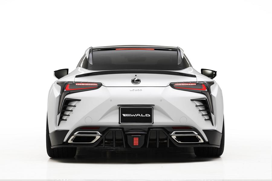 Wald Internationale Bodykit Lexus LC Tuning 12 Fertig   Wald International Widebody Kit für den Lexus LC