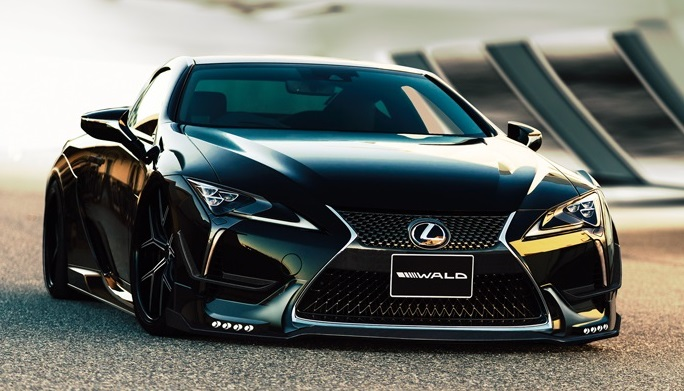 Wald Internationale Bodykit Lexus LC Tuning 14 Fertig   Wald International Widebody Kit für den Lexus LC