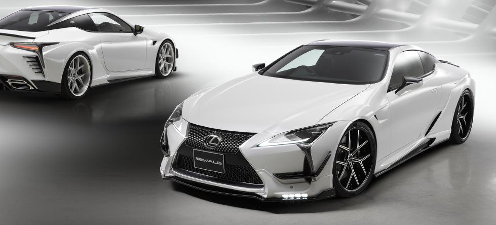 Wald Internationale Bodykit Lexus LC Tuning 4 Fertig   Wald International Widebody Kit für den Lexus LC