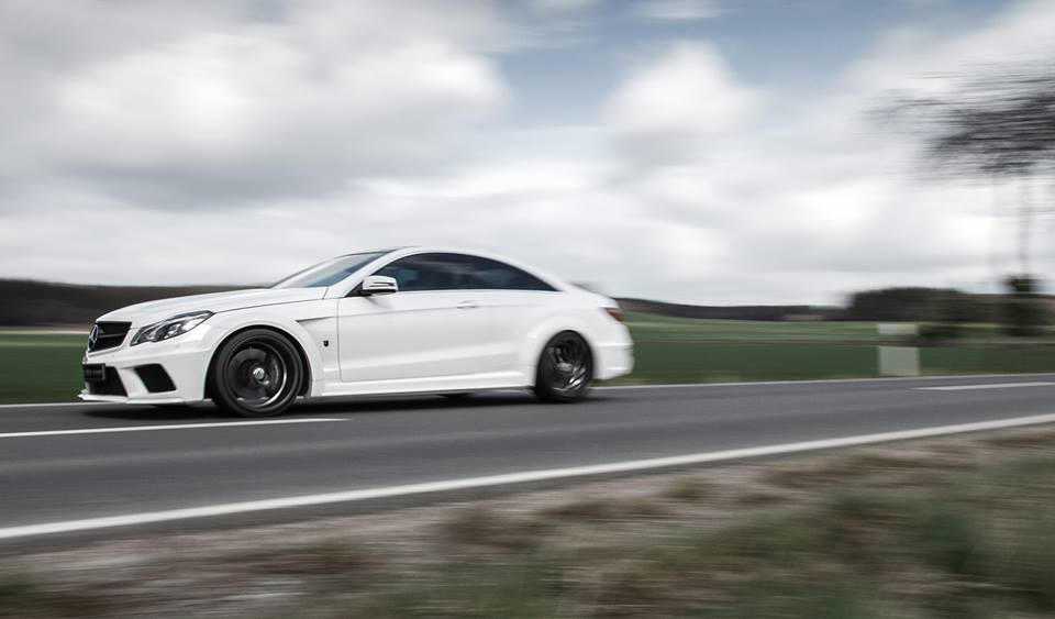 Widebody Mercedes Benz E350 C207 Kompressor 4 Irre   680 PS Mercedes Benz E350 C207 von mcchip dkr