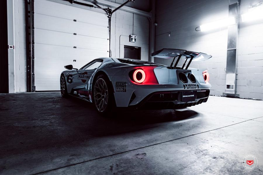 2017 Ford GT Martini Livree Vossen S17 01 Tuning 21 Highlight   2017 Ford GT von Driving Emotions Motorcar