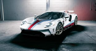 2017 Ford GT Martini Livree Vossen S17 01 Tuning 23 310x165 Highlight   2017 Ford GT von Driving Emotions Motorcar