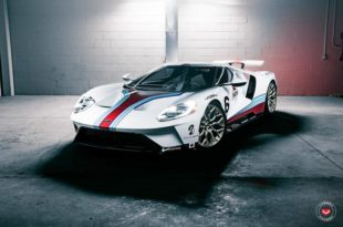 2017 Ford GT Martini Livree Vossen S17 01 Tuning 23 310x205 Highlight   2017 Ford GT von Driving Emotions Motorcar
