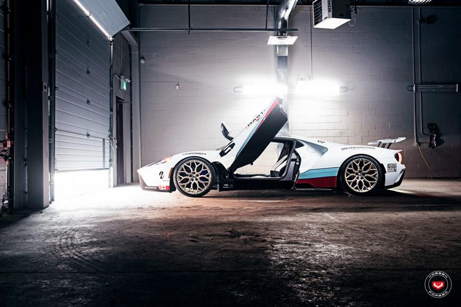 2017 Ford GT Martini Livree Vossen S17 01 Tuning 26 Highlight   2017 Ford GT von Driving Emotions Motorcar