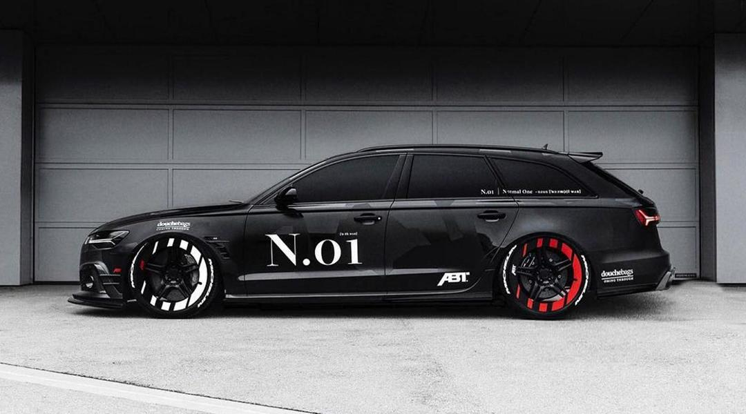 The most blatant Abt Audi RS6 + we've ever built
