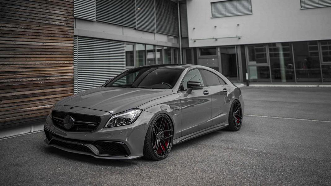 amg optics and zp2 1 rims on the mercedes benz cls 500. Black Bedroom Furniture Sets. Home Design Ideas