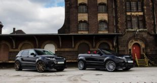 ARDEN AR 11 Тюнинг Range Rover Evoque SUV 2 310x165 Fierce: Arden AJ 24 RS 463 PS Паровой молот Jaguar XE