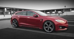 ARES Performance Tesla Model S Shooting Brake Cabrio 2018 Tuning 2 310x165 Mattschwarz & Vossen VPS 314T Alus am Tesla Model X