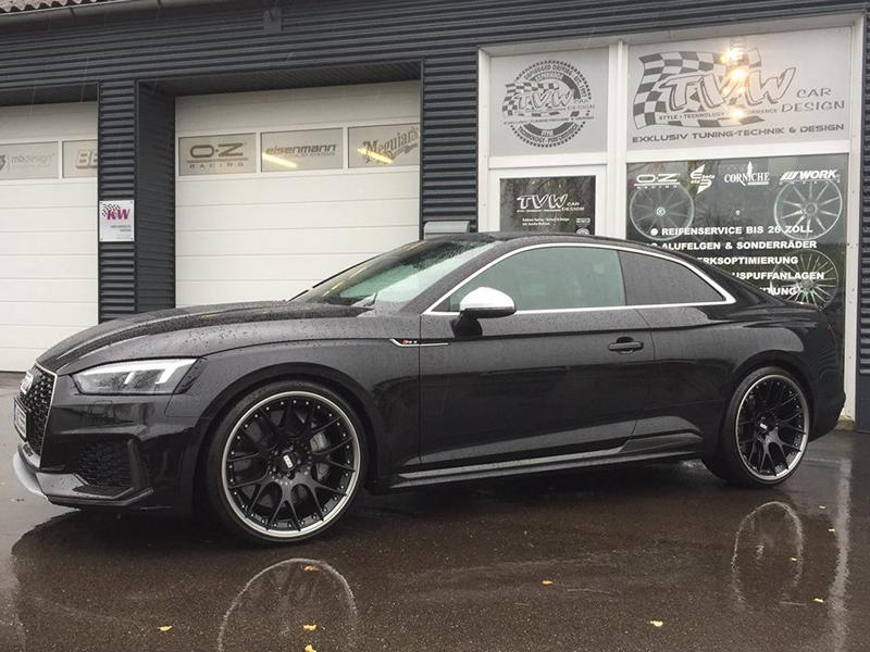 Audi RS5 BBS CH RII Alus TVW Tuning 1 Audi RS5 auf 21 Zoll BBS CH RII Alus by TVW Car Design