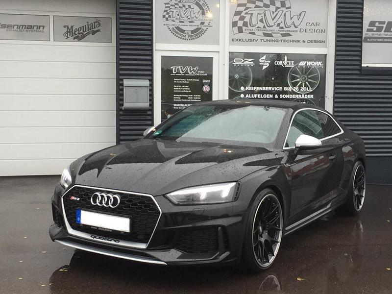 Audi RS5 BBS CH RII Alus TVW Tuning 2 Audi RS5 auf 21 Zoll BBS CH RII Alus by TVW Car Design
