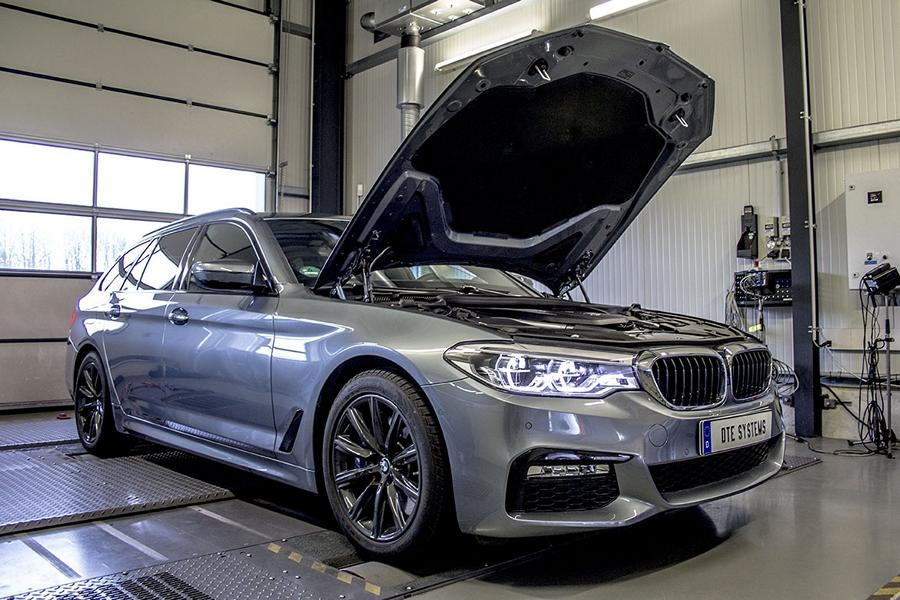 BMW 540i G30 DTE Chiptuning 1 Auf M5 Spuren   BMW 540i (G30) mit 397PS & 530NM by DTE