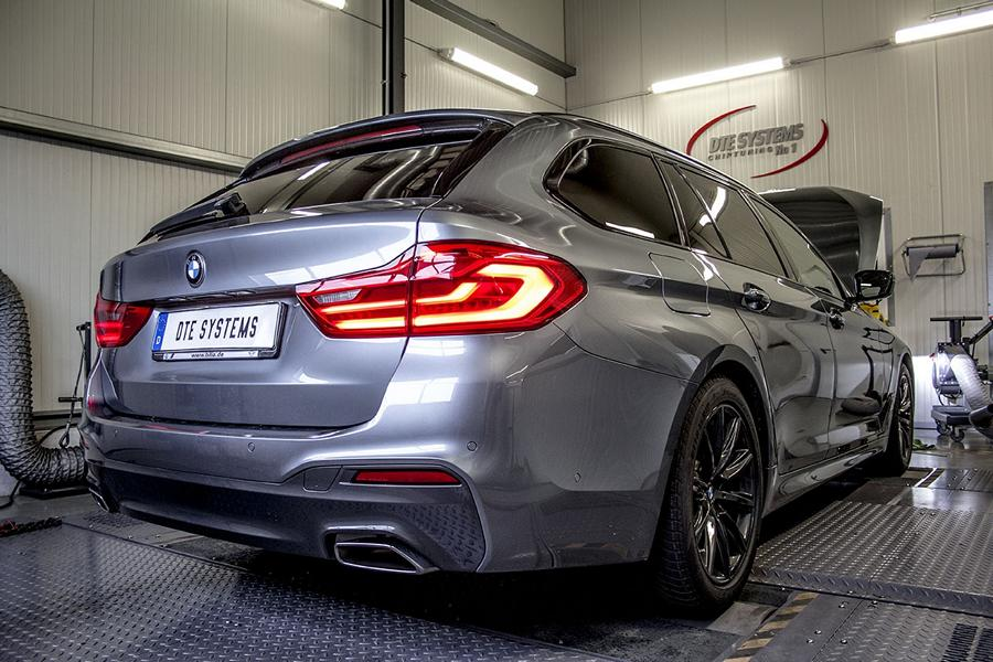 BMW 540i G30 DTE Chiptuning 5 Auf M5 Spuren   BMW 540i (G30) mit 397PS & 530NM by DTE
