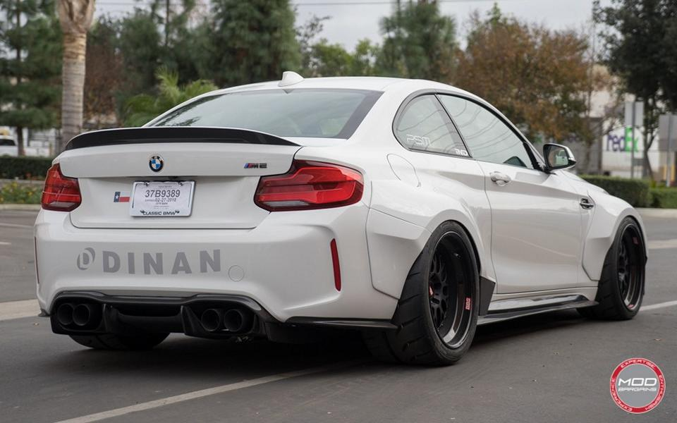 BMW M2 F87 Coupe PSM Dynamic Widebody Tuning 2018 3 Fett   BMW M2 F87 Coupe mit PSM Dynamic Widebody