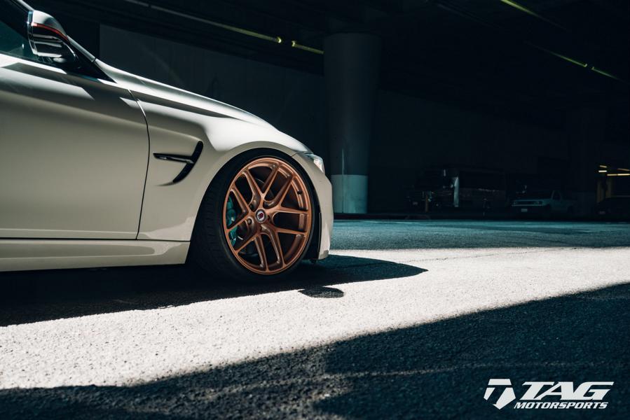 BMW M3 F80 HRE R101 LW Felgen Tuning 2 TAG Motorsports   BMW M3 F80 auf HRE R101 LW Felgen