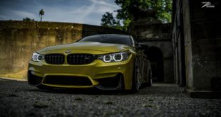 BMW M4 Austin Yellow Gelb ZP.2 Tuning 6 310x165 Z Performance Wheels ZP6.1 am BMW M4 F82 Coupe