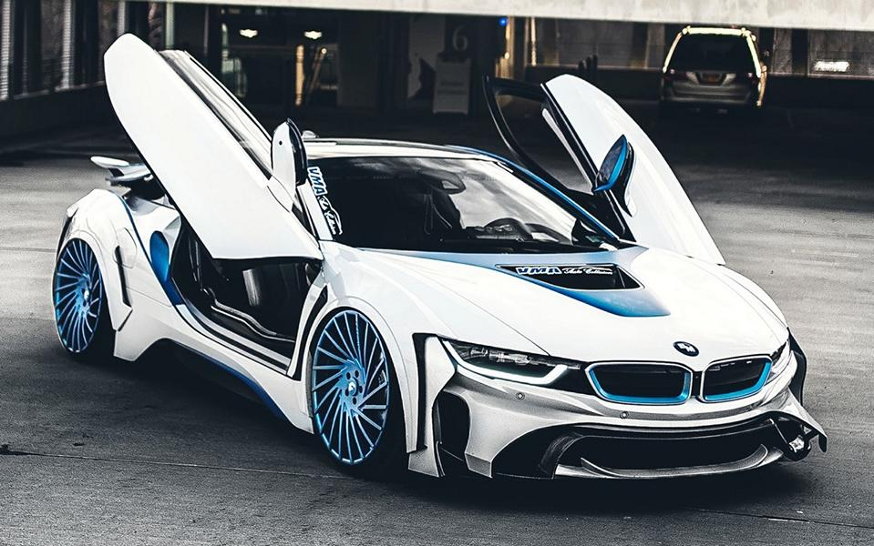Wow Bmw I8 Dark Knight Number 2 By Garage Eve Ryn Tuningblog Eu