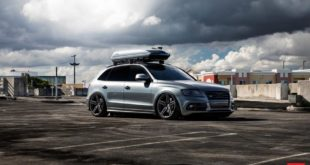 Bagged Audi SQ5 Vossen HF 1 Tuning 8 310x165 Goldene Vossen Wheels RS74 Felgen am Porsche 918 Spyder