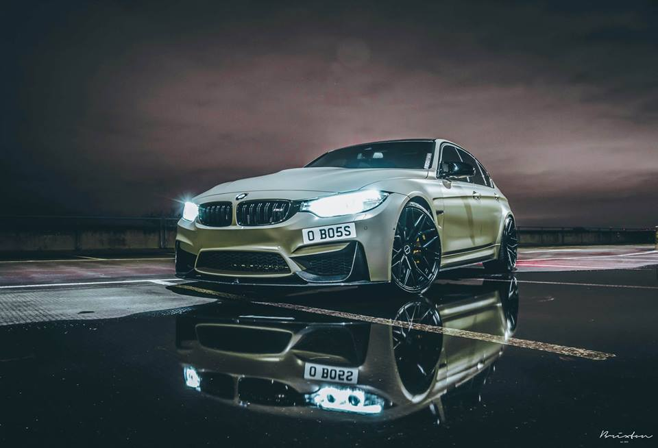 Brixton Forged Cm10 Rims On The Olive Bmw M3 F80