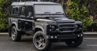 CHELSEA TRUCK COMPANY ASTON MARTIN STORM BLACK LAND ROVER DEFENDER 110 2 310x165 Land Rover Defender Final Edition in Lava Orange by Kahn