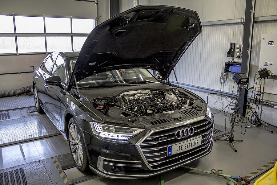 DTE Systems Audi A8 D5 PowerControl X Chiptuning 2 Erster   DTE Systems Audi A8 D5 mit PowerControl X Chiptuning