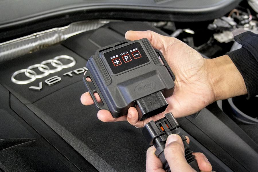 DTE Systems Audi A8 D5 PowerControl X Chiptuning 5 Erster   DTE Systems Audi A8 D5 mit PowerControl X Chiptuning