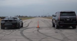 Hennessey Cadillac Escalade vs. Camaro ZL1 310x165 Video: 1.000 PS McLaren 12C vs 800 PS 650S & Serien 12C