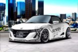 Honda S660 Kei Car Tuning Rowen International Bodykit 17 155x104 Kleines Honda S660 Kei Car vom Tuner Rowen International