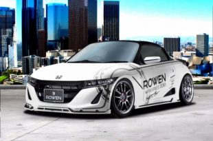 Honda S660 Kei Car Tuning Rowen International Bodykit 17 310x205 Kleines Honda S660 Kei Car vom Tuner Rowen International