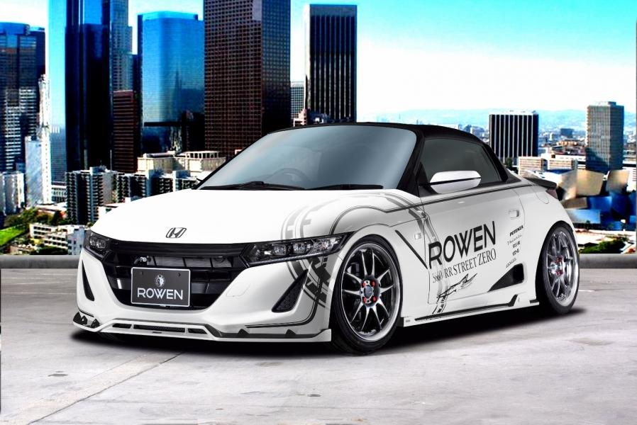 Honda S660 Kei Car Tuning Rowen International Bodykit 17 Kleines Honda S660 Kei Car vom Tuner Rowen International