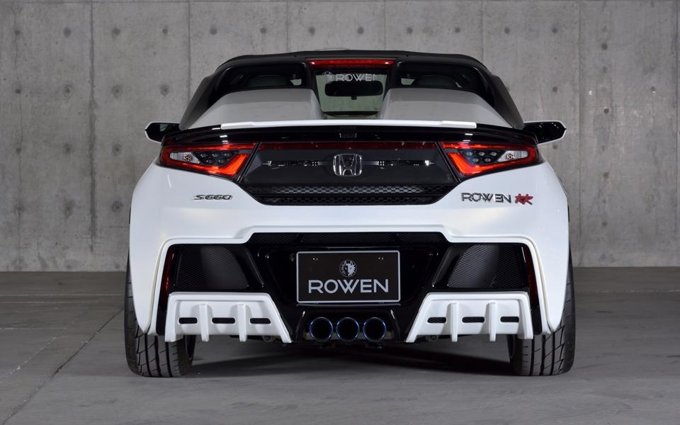 Honda S660 Kei Car Tuning Rowen International Bodykit 6 Kleines Honda S660 Kei Car vom Tuner Rowen International