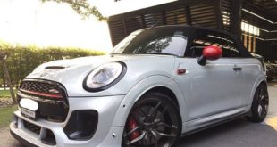 John Cooper Works Cabrio DuelL Bodykit Tuning 1 310x165 Mini F57 John Cooper Works Cabrio mit DuelL Bodykit