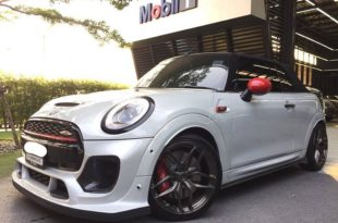 John Cooper Works Cabrio DuelL Bodykit Tuning 1 310x205 Mini F57 John Cooper Works Cabrio mit DuelL Bodykit