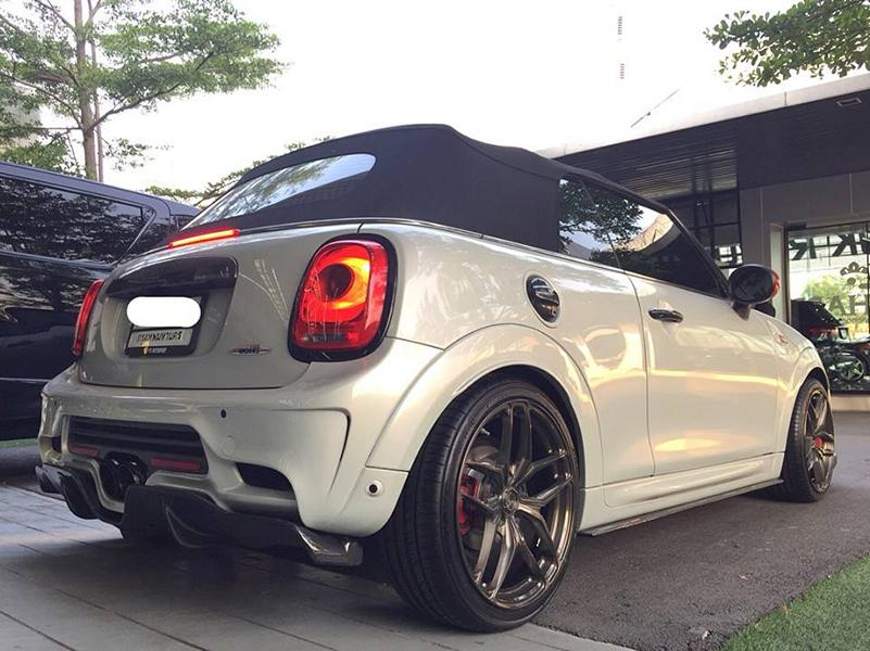 John Cooper Works Cabrio DuelL Bodykit Tuning 2 Mini F57 John Cooper Works Cabrio mit DuelL Bodykit
