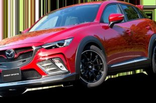Knight Sports Widebody Kit Mazda CX 3 Tuning 38 310x205 Schickes Knight Sports Widebody Kit am Mazda CX 3 SUV