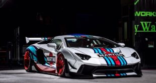 Limitiert Liberty Walk Lamborghini Aventador Widebody Martini 310x165 Savini Wheels & Liberty Walk Widebody Kit am BMW i8