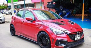 Mazda 2 Knight Sports Bodykit Tuning 2018 13 310x165 Mächtiger Style   Mazda 3 mit Widebody Kit von JGTC