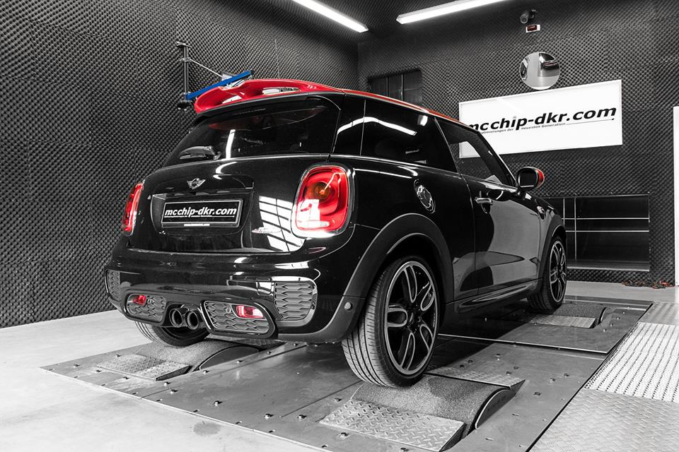 Mcchip Mini John Cooper Works Chiptuning 2018 1 Heftig   284PS & 415Nm im Mcchip Mini John Cooper Works