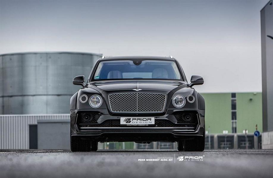 PRIOR DESIGN PDXR Widebody Bentley Bentayga Tuning 2018 10 Gewaltig   PRIOR DESIGN PDXR Widebody Bentley Bentayga