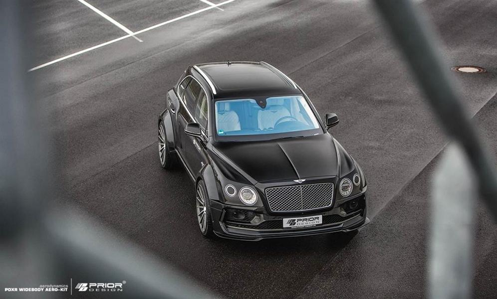 PRIOR DESIGN PDXR Widebody Bentley Bentayga Tuning 2018 2 Gewaltig   PRIOR DESIGN PDXR Widebody Bentley Bentayga