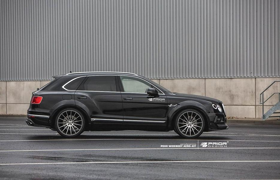 PRIOR DESIGN PDXR Widebody Bentley Bentayga Tuning 2018 7 Gewaltig   PRIOR DESIGN PDXR Widebody Bentley Bentayga