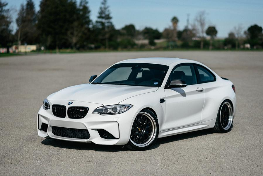 Performance Technic BMW M2 BBS Tuning 12 Traum in weiß   Performance Technic BMW M2 auf BBS Felgen